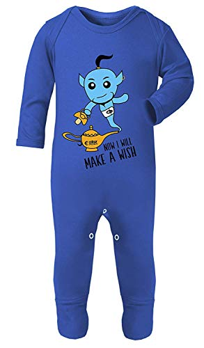 Kleur Mode Aladdin Jinn Print Kostuum pyjama Footies 100% Katoen Hypoallergeen
