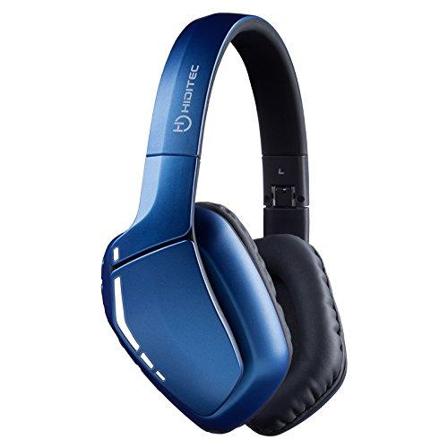 COOL Bluetooth-hoofdtelefoon | Blauwe Bluetooth-helmen voor PS4, pc, XBOX, smartphone | 3,5 mm versterkte jack en microfoonkabel Surroundgeluid | Spaans product | koptelefoon