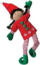 Elf Magic 36-Inch Giant Girl Elf with Black Hair Plush Toy