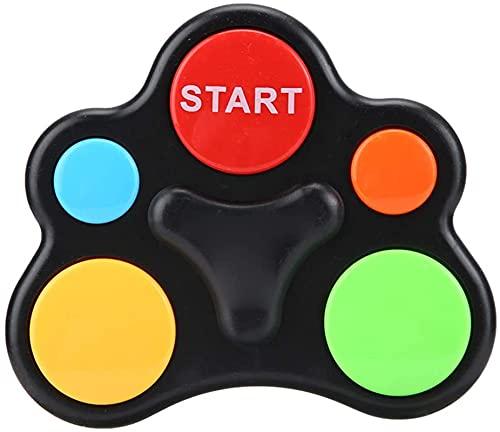 Milu deer Juguetes para Entrenar la Memoria, Juegos electrónicos de Memoria ABS para niños, Consolas de Juegos LED, música Inteligente interactiva, iluminación, Entrenamiento Mano-Cerebro