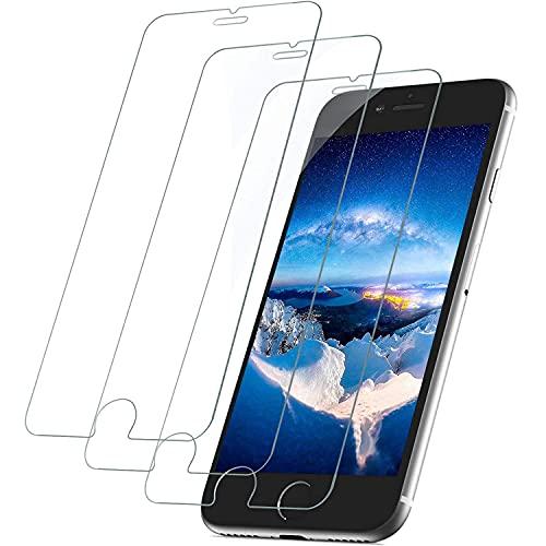 """[3 Stück] Panzerglas Schutzfolie für iPhone 8, iPhone 7, iPhone 6S und iPhone 6, 9H Härte Schutzglas, Anti-Kratzen,Blasenfrei, 3D Glas Folie HD Displayschutz für iPhone 8/7/6S/6 (4.7\"""")"""