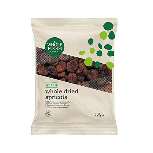 Whole Foods Market - Ganze Aprikosen, getrocknet und entsteint, aus biologischer Landwirtschaft, 500g