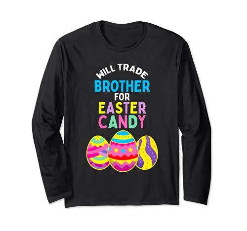 Will Trade Brother for Pascua Eggs Nios Nios Nios Manga Larga