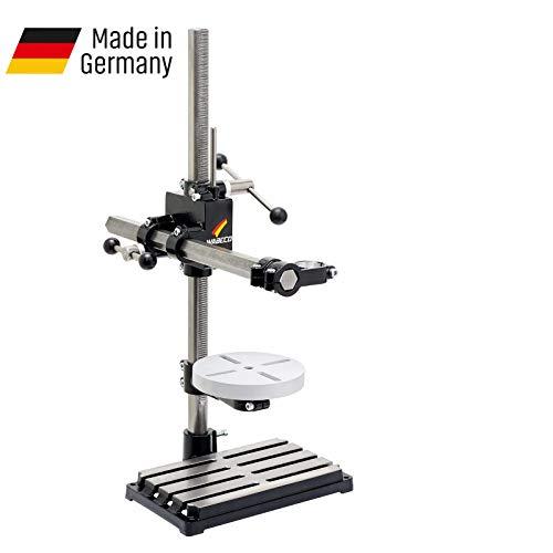 WABECO Bohrständer Fräsständer BF1243 vertikal/horizontal Säule 750 Ausleger 500 mm mit Rundtisch