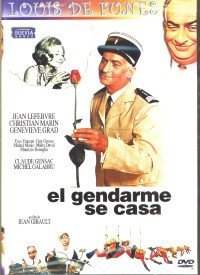 LOUIS DE FUNES : EL GENDARME SE CASA [DVD Non-USA Format, Pal Region 2 import]