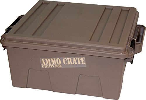 MTM ACR8-72 Ammo Crate Utility Box with 7.25 Deep, Large, Dark Earth by MTM
