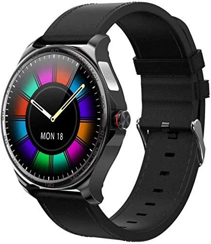 Reloj Inteligente Bluetooth Mano Libre Full Touch Fitness Tracker Band Hombres Mujeres ECG Frecuencia Cardíaca Ronda Música Deportes Smartwatch-D-D.