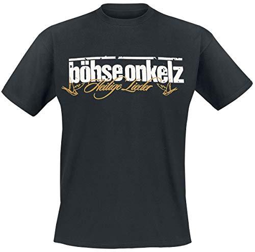 Böhse Onkelz Gehasst, verdammt, vergöttert II. Männer T-Shirt schwarz 5XL