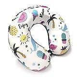 Sterling Micro Fiber Neck Pillow (Multicolored PILLOW ALPHABETS)