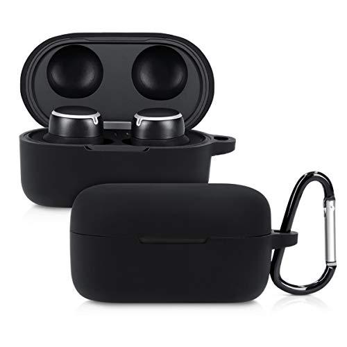 kwmobile Schutzhülle kompatibel mit AKG N400NC - Hülle Kopfhörer - Silikon Hülle Cover Schwarz
