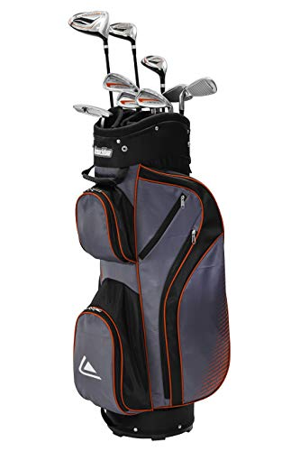 Spalding Package Tour-Hommes Golf Club Men's, Gris/Rouge, One Size
