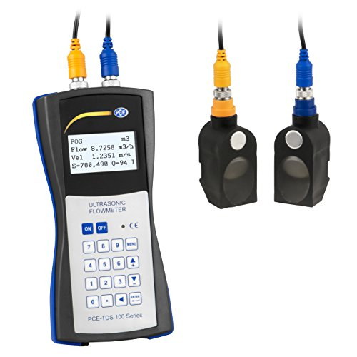 PCE Instruments PCE-TDS 100H Ultraschall- Durchflussmessgerät nach dem Laufzeit-Differenzverfahren