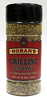 Moran's Grilling Seasoning 3-3.3 oz pack. All Natural, No MSG and Gluten Free.