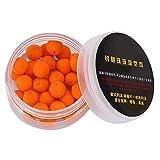SOONHUA 30 unids/lote pesca cebo falsa carpa pesca espuma pop up pellets suave cebo flotante (naranja 12 mm)