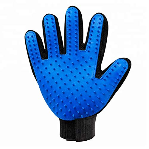 Pet Hair Glove Brush for Grooming and Deshedding (1 Pack)