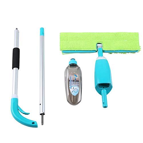 chengshiandebaihu Multifunktionales Homeuse 360 Swivel Water Spray Mop Doppelseitiges Ersatzwischtuch Bodenwischer-Reinigungswerkzeug
