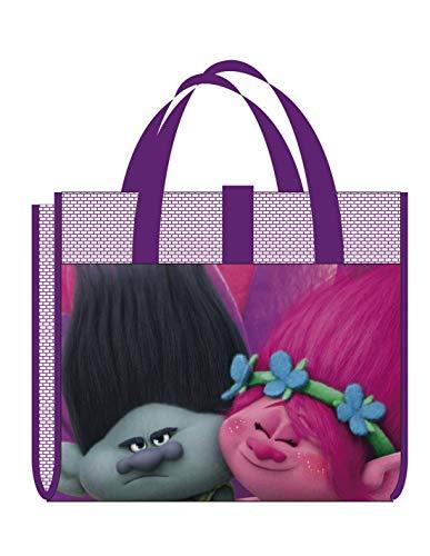 Natte de Plage Pliable Enfant Fille Trolls Violet 75 x 150 cm - Violet, Taille Unique
