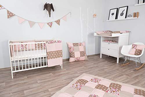 Baby-Tagesdecke von ULLENBOOM® mit beigen...