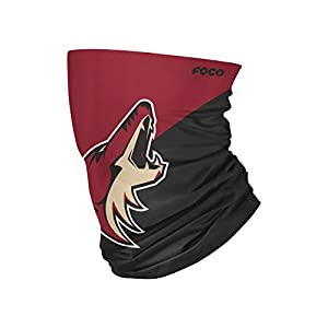 FOCO Arizona Coyotes NHL Big Logo Gaiter Scarf