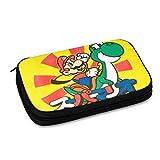 ファッション スーパーマリオ Super Mario 65 (2) ケーブル収納バッグ 超大容量 小物入れ 充電器 多機能 耐衝撃 防水 出張 旅行対応 携帯便利