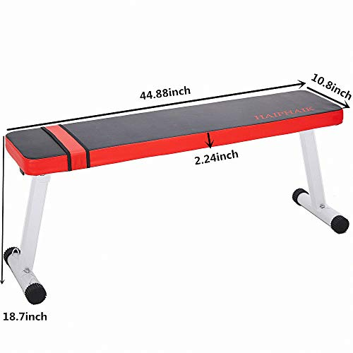 Foldable Portable Weight Bench - Multi Function Workout Bench and Ab Exercises