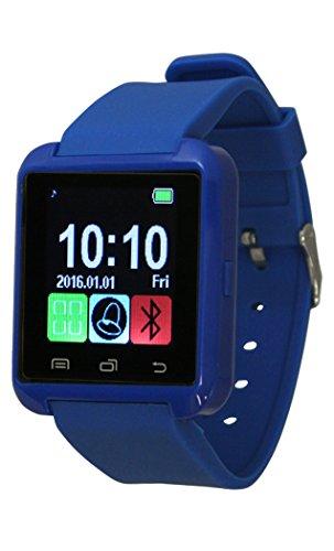 Fashion Smart Watch U8 Phone Mate Pedometer Touch Screen Bluetooth (Royal Blue)