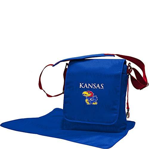 Lil Fan Diaper Messenger Bag, NCAA College Kansas Jayhawks
