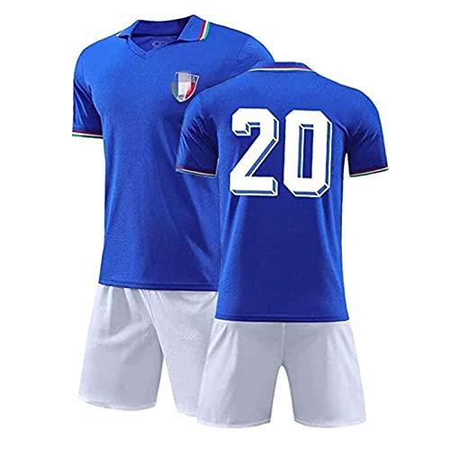 Camiseta De Fútbol, 1982 Italia No. 20 Conjunto De Camiseta Maradona, Campeón...