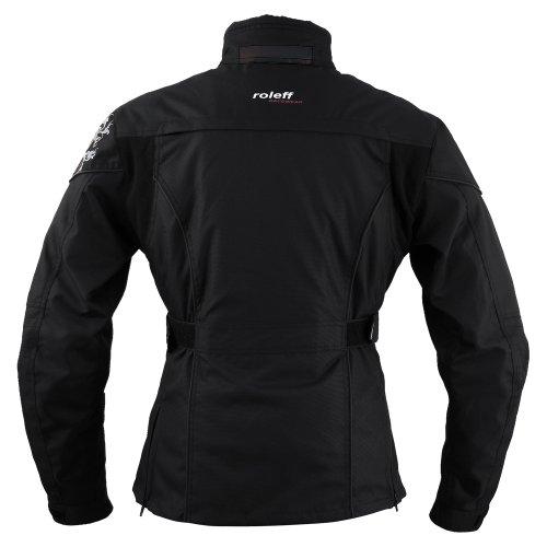 Roleff Racewear Damen Motorradjacke Ladylike RO 960, Schwarz, Größe L - 2