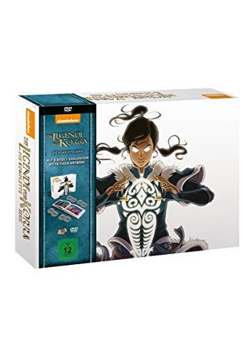 Die Legende von Korra Komplettbox - Special Limited Edition [8 DVDs]