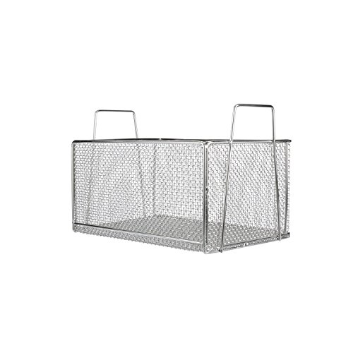 "Marlin Steel Electropolished Rectangular Basket (12""L x 18.12""W x 9""H)"