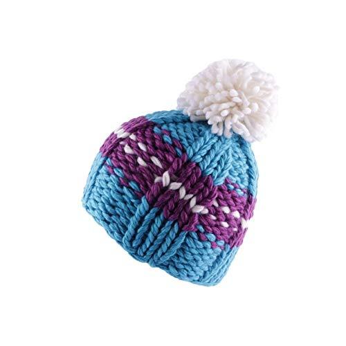 Léon montane Bonnet à Pompon Degel Bleu et Violet - Mixte