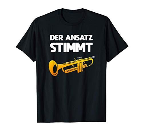Der Ansatz Stimmt Trompete Musiker T-Shirt