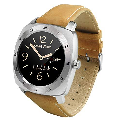 Outdoor-Smartwatch Domino DM88 Bluetooth V4.0 Herzfrequenz-Smart Watch für iOS/Android-Handy, Schrittzähler/Schlafmonitor/Sitzende Erinnerung/Anti-Lost/Kamera-Fernbedienung (Schwarz)