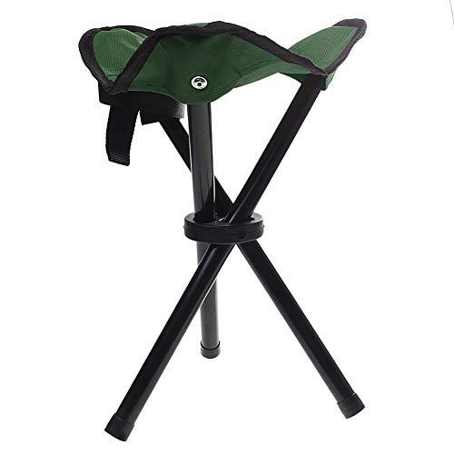 Austinstore Klappbarer Camping-Stuhl, tragbarer Stuhl für Camping, Angeln, Wandern, Gartenarbeit und Strand, Camping-Sitz, zufällige Farbe