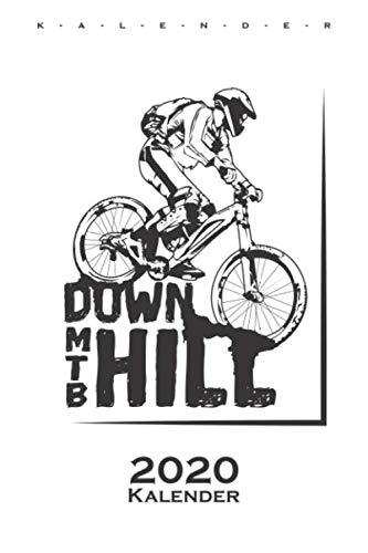 Downhill MTB Kalender 2020: Jahreskalender für alle Liebhaber und Fans des Zweiradsports