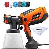 REXBETI 700 Watt High Power Paint Sprayer, 1000ml/min HVLP Spray Gun, with...