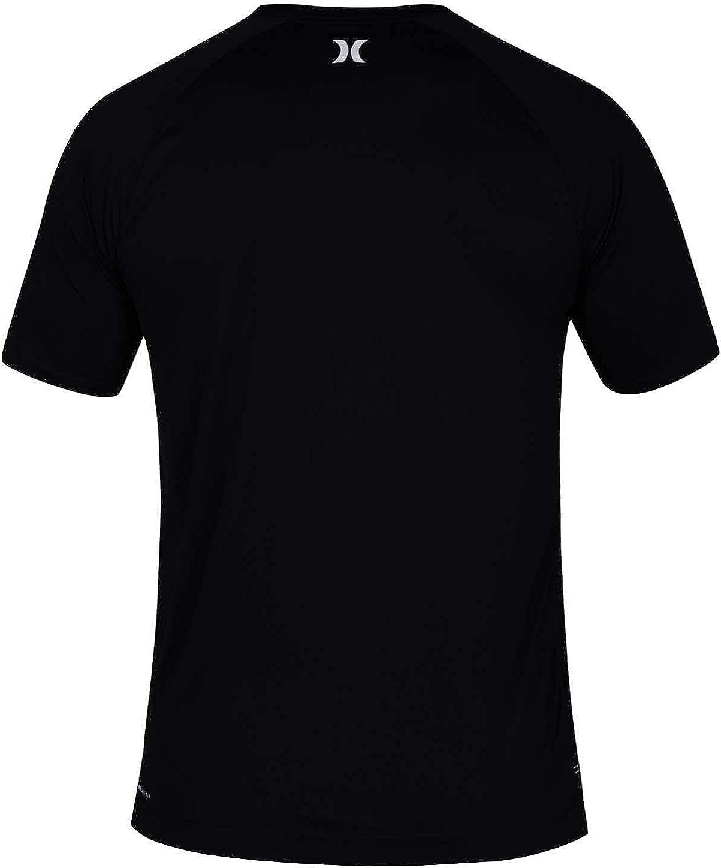 Hurley Men's Quick Dry Short-Sleeve T-Shirt Rash-Guard