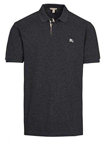 Burberry Brit - Polo de manga corta, color gris