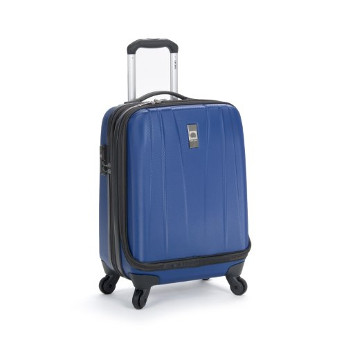 Delsey Luggage Helium Shadow 2.0 International Carry On Expandable Spinner Trolley, Royal Blue, One Size