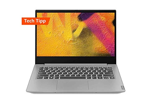 Lenovo IdeaPad S340 35,6 cm (14,0 Zoll Full HD IPS matt) Slim Notebook (AMD Ryzen 5 3500U, 8 GB RAM, 512 GB SSD, AMD Radeon Vega 8 Grafik, Windows 10 Home) grau