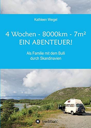 4 Wochen - 8.000km - 7m² - Ein Abenteuer!: Als Familie mit dem Bulli durch Skandinavien