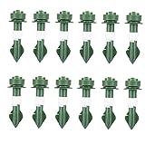 Set de riego automático Spikes Waterer Plant Watering DISPOSITIVOS AUTO DRIP DRIP Dispositivos de riego para jardín de plantas en maceta Indoor verde 12 unids, dispositivo de riego automático perezoso