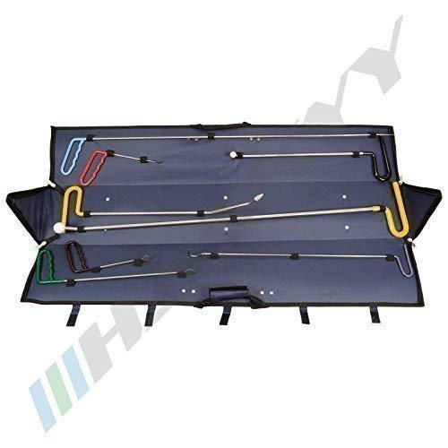 8 tlg. Ausbeulwerkzeug Dellenlifter zur Etfernung von Steinschlägen/Lackschäden, Ausbeuleisen Satz für Karosserie Reparatur