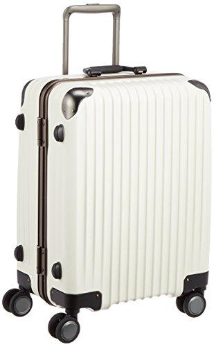 [カーゴ] スーツケース グッドサイズ ロータリーロック 消音キャスター TW64 保証付 52L 58 cm 4.2kg アイボリー