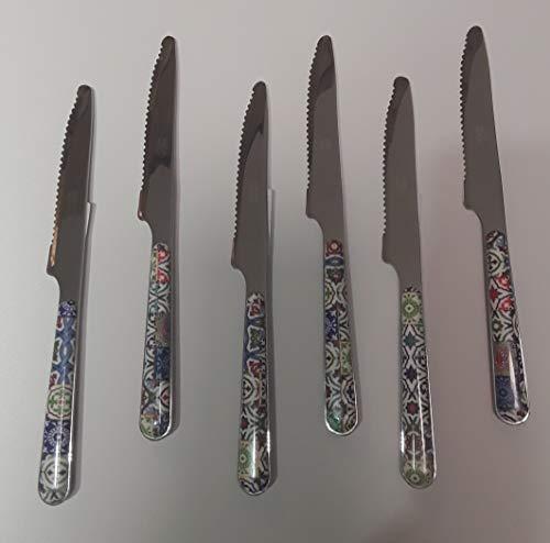 Emporio Zani - Juego de 6 cuchillos para pizza de...