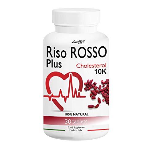 RISO ROSSO PLUS K10 Fermentato 30 compresse (trattamento PER 1 MESE)