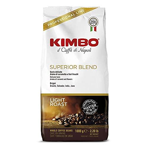 Kimbo Superior Blend - Miscela superiore Caffè in grani, 1 kg