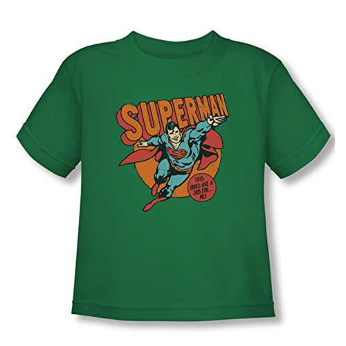 Dc - Toddler emplois Pour T-shirt Me, 2T, Kelly Green