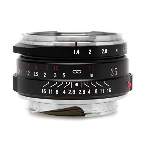 Voigtlander Nokton 35mm f/1.4 II Multi Recubierto Leica M Monte Lente - Negro